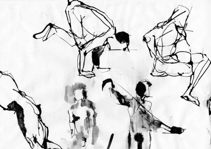 Adriana Vawdrey_ ink sketch